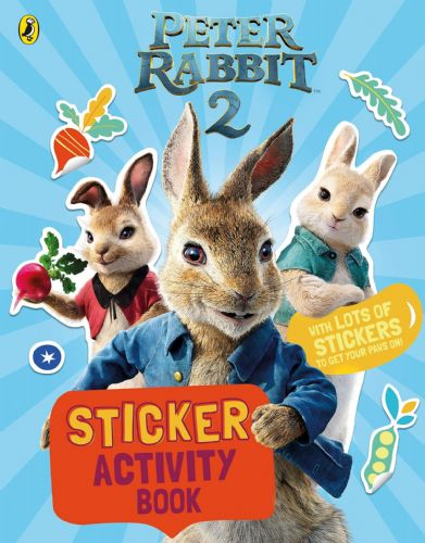 Peter Rabbit Movie 2 Sticker Activity Book Paperback